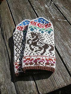 Ravelry: Gorodets pattern by Natalia Moreva Mittens Pattern, Knit Mittens, Knitted Gloves, Crochet Animal Patterns, Stuffed Animal Patterns, Knitting Charts, Knitting Patterns, Knit Crochet, Crochet Hats