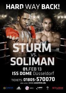 Gewinner zur Verlosung Sturm vs Soliman hier lesen!