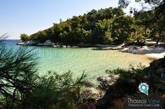 Glifoneri Beach, Thassos, Greece.