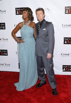 Iman And David Bowie Celebrate 20th Wedding Anniversary, Cutest Couple Moments (PHOTOS)