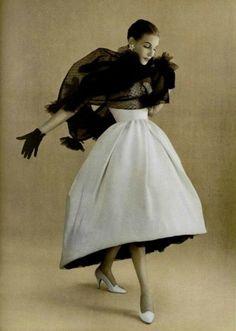 """vintage-fashionista: """" Dior Fall 1957 """""""