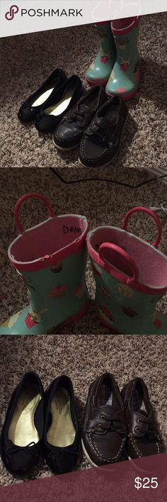 Toddler shoes Rain boots fit like an 8 or 9 Crewcuts Shoes