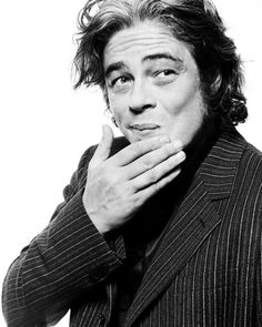Benicio Del Toro, another brain crush.
