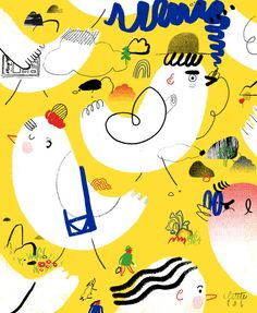 ilustración de Gizem Vural