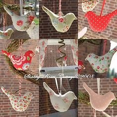 Birds (*ShabbyRosesCottage*) Tags: bird birds sewing tilda vgel vogel finnager tildashaus