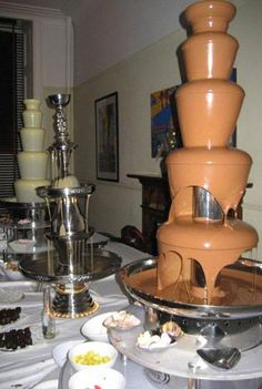 84 best buffet champagne chocolate cheese fountains set up rh pinterest com