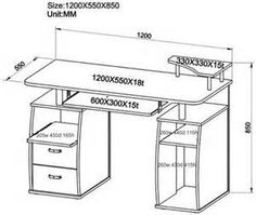 computer table, desk, ergonomic dimensions - Yahoo India Search Results Desktop Computer Table, Indian Diy, Table Sizes, Office Desk, Corner Desk, Woodworking Projects, Vanity, Table Desk, Furniture