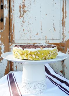 Renjablog: Csokoládés mandulatorta