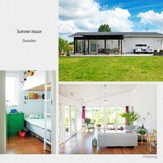 スウェーデンの別荘サマーハウス2LDK。外と中の感じが好み Outdoor Decor, Home Decor, Decoration Home, Room Decor, Home Interior Design, Home Decoration, Interior Design