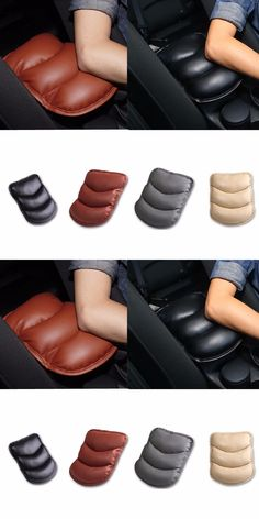 1pc Car Armrests Cover Pad Console Arm Rest Pad For Skoda Octavia A2 A5 A7 Fabia Rapid Superb Yeti Roomster