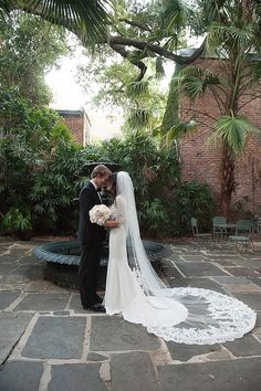 Pink Roses and Lace New Orleans Wedding from Jacqueline Dallimore - wedding veil