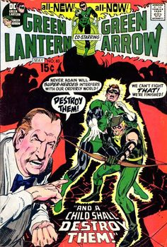 Green Lantern Vol 2 #83 (1971).  Cover art:  The very capable Neal Adams