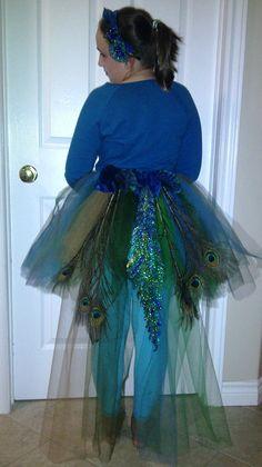 Peacock Costume - Halloween 2013
