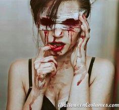 Creepy Halloween Makeup 7