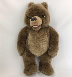 """1998 Little Bear Original 16"""" Plush Talking Maurice Sendak Kidpower Stuffed #Kidpower #StoryCharacter"""