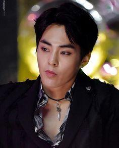 You're my Dream — Mackerel Xiumin interrupting Changmin's sexy solo. Baekhyun, Kim Minseok Exo, Exo Ot12, Exo For Life, Exo Korea, Exo Official, Ko Ko Bop, Kim Min Seok, Kpop
