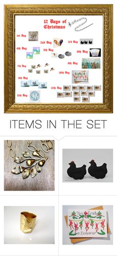 """""""12 Days Of Christmas"""" by pippinpost ❤ liked on Polyvore featuring art, gifts, polyvoreeditorial and integrityTT"""
