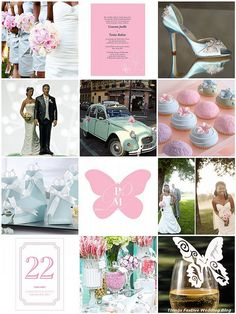 Butterflies (and a little bling) make this a truly special wedding theme.