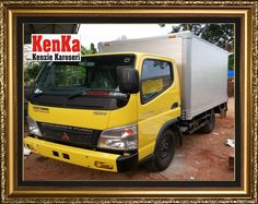 KAROSERI BOX ALUMUNIUM >> KAROSERI KENKA Mitsubishi Dealer, Truck Boxes, Showroom, Dan, Trucks, Truck, Track, Fashion Showroom