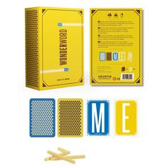 Unique word game for teens and families! WonderWord is a game of words and letters, but it's all about seeing words from a different angle! Players spend a matchstick to guess your word. Each circuit of the table without a correct answer, you turn over the LAST letter of your word! 2-5 players.