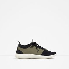 ZARA - WOMAN - CONTRAST SNEAKERS