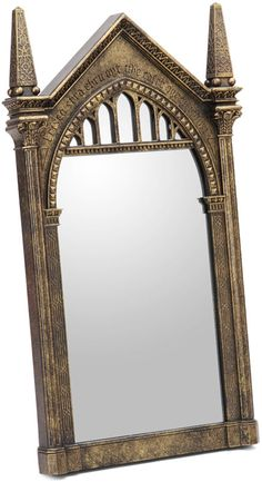 Harry Potter Mirror of Erised. The ONLY way I would except a mirror in my room! (: