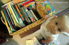 building a library for your baby and young toddler -- tips and book ideas