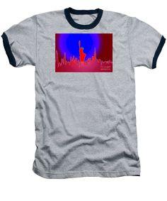 Baseball T-Shirt - Statue Of Liberty Enlightening The World