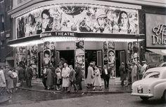 Astoria Theatre (cinema), Charing Cross Road, London, mid-1957