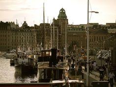 Greetings from Stockholm! Stockholm, Finland, Denmark, Norway, Sweden, Seaside, New York Skyline, Sailing, Summer