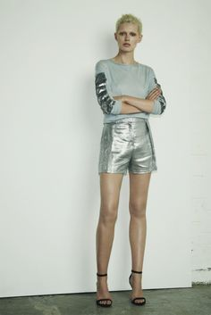 Markus Lupfer. Because you don't need much more than a pair of silver shorts.