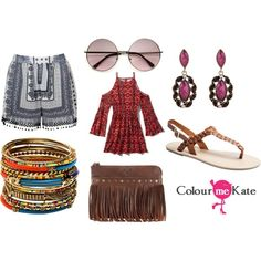 Boho clothes by colourmekate on Polyvore featuring Abercrombie & Fitch, Ally Fashion, Wet Seal, Patricia Nash and Amrita Singh