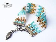 Znalezione obrazy dla zapytania beading loom patterns Loom Bracelet Patterns, Bead Loom Bracelets, Bead Loom Patterns, Beading Patterns Free, Beading Tutorials, Bead Jewellery, Beaded Jewelry, Bead Crafts, Jewelry Crafts