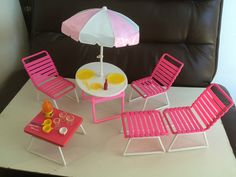313 Best Vintage Barbie Furniture images in 2019 | Barbie dolls ...