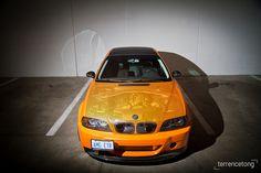 orange BMW #bmw
