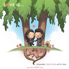 Check out the comic HJ-Story :: Growing Together