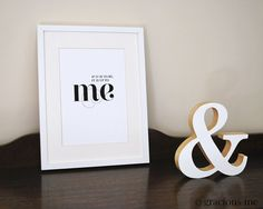 Typographic Quote Print | If it is to be, it is up to me | Instant Digital Download by Gracious Me | GraciousMeShop - Etsy
