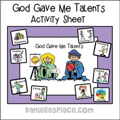 Bible Crafts and Learning Activities for Joseph's Dream Bible Lesson Sunday School Crafts For Kids, Bible School Crafts, Bible Crafts For Kids, Bible Lessons For Kids, Talents In The Bible, Parable Of The Talents, Preschool Bible Activities, Preschool Lessons, Church Activities