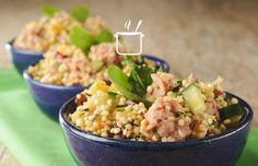 Quinua e atum: aprenda a fazer uma salada rápida!