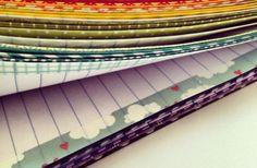 Washi Tape the edges