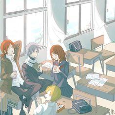 Ao Oni - After School Friends by kairikonoha