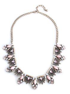 olive + piper Pink Contessa Necklace