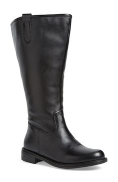 David Tate 'Best' Calfskin Leather & Suede Boot (Extra Wide Calf) available at #Nordstrom