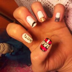 Pvp nails! Yes!