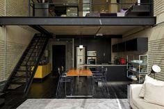 Industrial Loft Interior Design 8