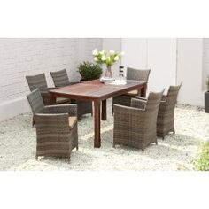 FISCHER Dining Set - Fischer table and 4 Fischer dining chairs with ...