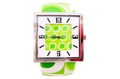 Funky Lime Green Watch My Favorite Color, My Favorite Things, Bling Jewelry, Lime, Watches, My Style, Rings, Green, Shopping