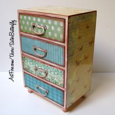 Sister Butterfly Jewelry Chest   sisterbutterfly - Housewares on ArtFire