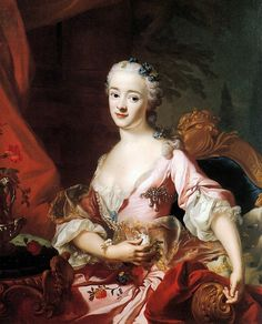 Portrait de la princesse Francavilla Sun, par Alexander Roslin