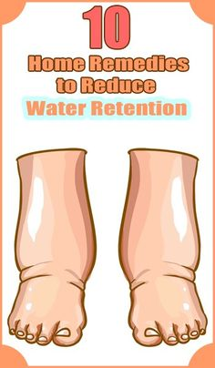 10 Natural Remedies to Reduce Water Retention